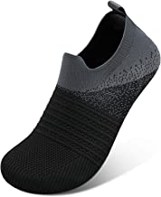 Scurtain Unisex Women Slippers Men Slippers Sock Breathable Knitted Mesh Barefoot quick dry Water Shoes for Women Men Athl...