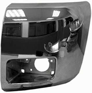 Chrome Front Bumper Extension Outer for 07-13 Chevrolet Silverado 1500