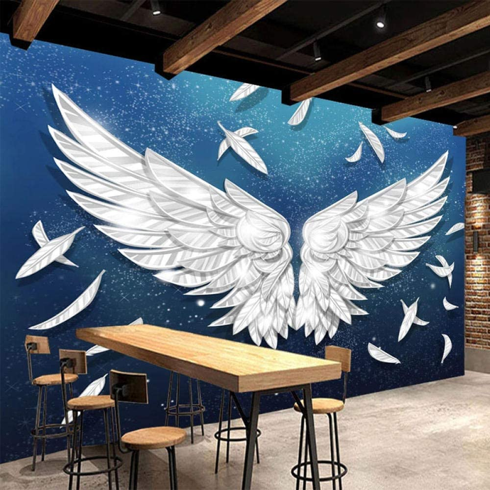 3D Wallpaper for Living Room Modern Feat Regular dealer with Simple Mural Wings Ranking TOP16