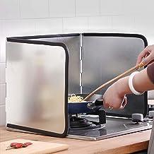 Defletor de óleo de cozinha, protetor contra respingos, folha de alumínio, protetor de respingo de óleo, l, defletor de ól...