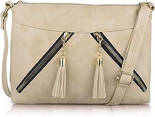 Nevis Women Synthetic Leather Stylish Trendy Fashion Shoulder Crossbody Slingbag
