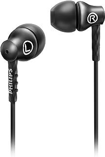 Fone de Ouvido Intra-auricular Philips SHE8100 Preto Estéreo Graves Profundos Carcaça de Alumínio