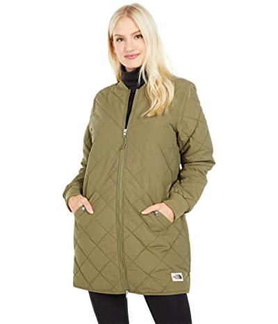 The North Face Cuchillo Parka (Burnt Olive Green) Women