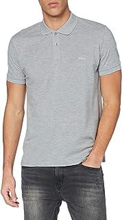 Lee Cooper Men's Essential Polo Tee Shirt, Grad, Regulär