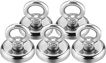 Sterk neodymium oogmagneet, diameter 32 mm, Wukong trekkracht 30 kg super sterke neodymium magneet haken 5-pcs