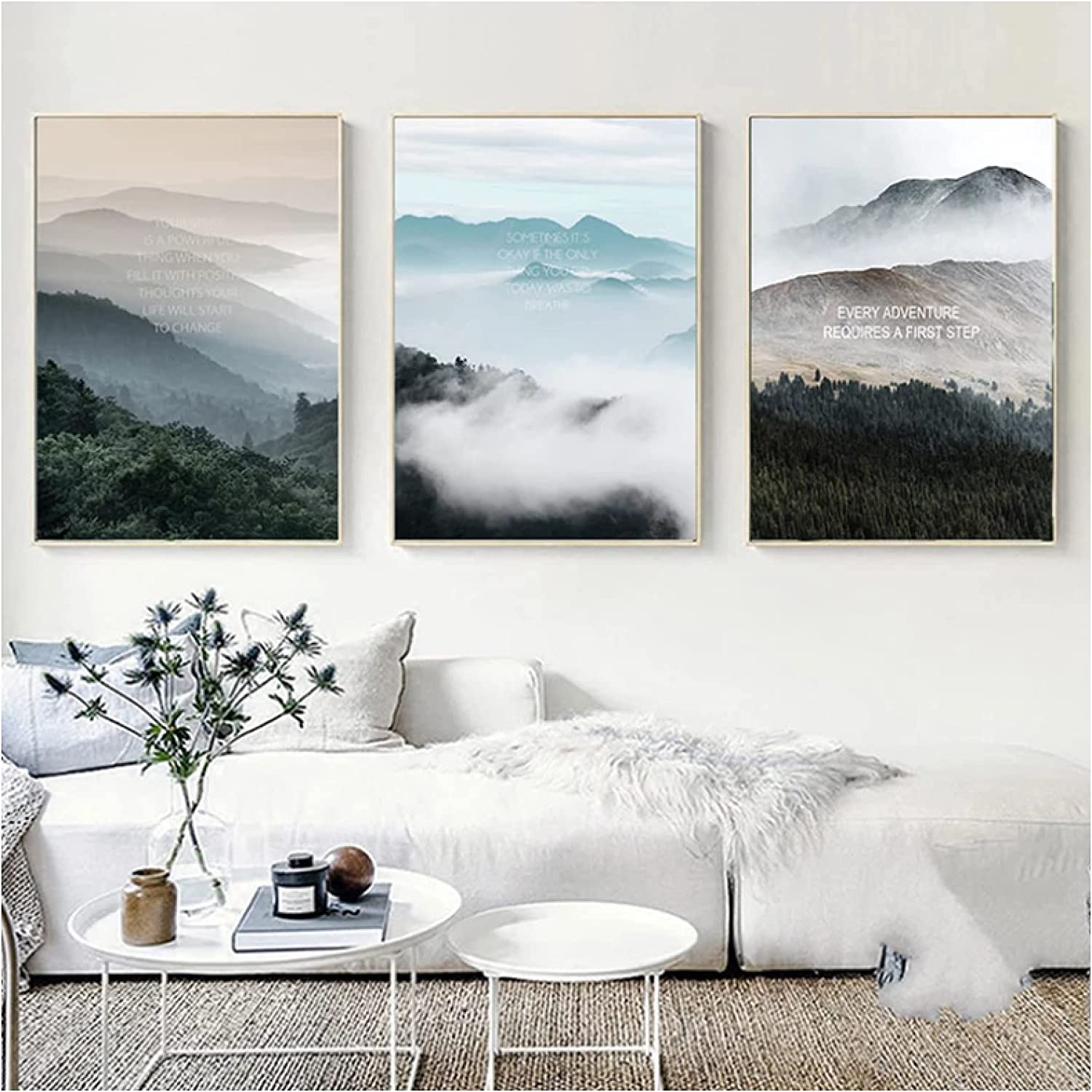 EZRYBHD Wall Art Our shop OFFers the best service Landscape Canvas Nordic Poster S Print Max 73% OFF