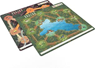 """Leder Games Root: Double-Sided Mountain/Lake 22"""" x 24"""" Playmat"""