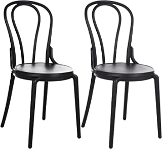 Amazon Fr Chaise Bistrot Bois