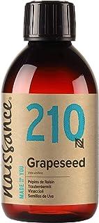 Naissance Grapeseed Oil (nr. 210) 250ml - Natuurlijke moisturiser en conditioner voor haar en huid