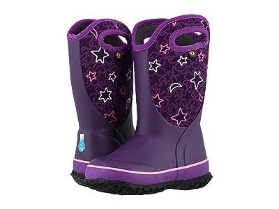 Bogs Kids Slushie Night Sky (Toddler/Little Kid/Big Kid) (Purple Multi) Girls Shoes