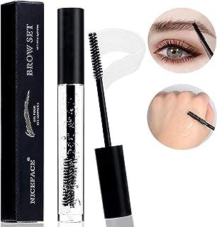 Clear Eyebrow Setting Gel,Waterproof Liquid Brow Gel,Long Lasting Transparent Brow Fixed Gel,Eyebrow Gel With Brush,Clear ...