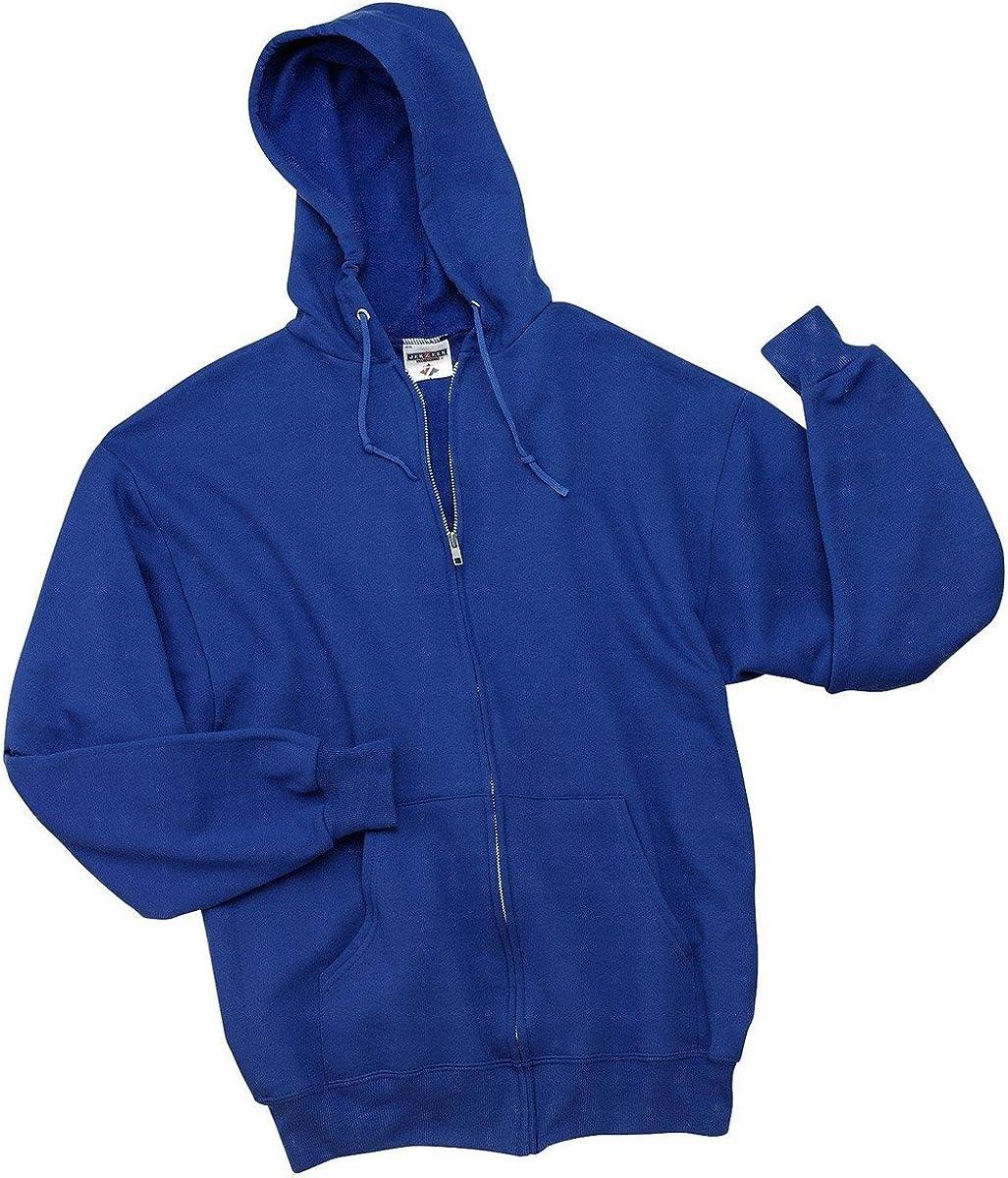 Jerzees boys NuBlend Full-Zip Hooded Sweatshirt (993B) ROYAL