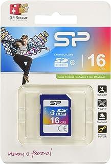 سيليكون باور 16 جيجا كلاس 4 SDHC بطاقة ذاكرة
