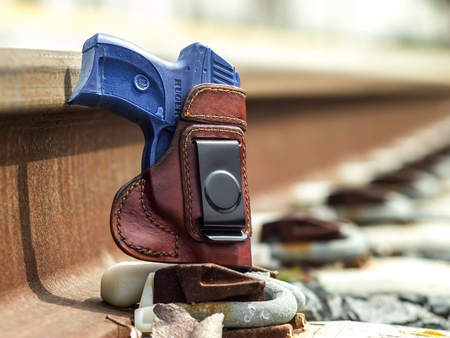 OUTBAGS USA LS3LC9 Full Super sale Grain Heavy Leather Conceal Carry Gu IWB Ranking TOP7