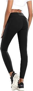 comprar comparacion QueenDer Leggins Fitness Mujer Deporte Leggings Largo Pantalones Cintura Alta Corto Polainas Mallas para Yoga Running Cycl...