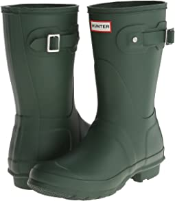 a79218009 Hunter Green. 1459. Hunter. Original Short Rain Boots