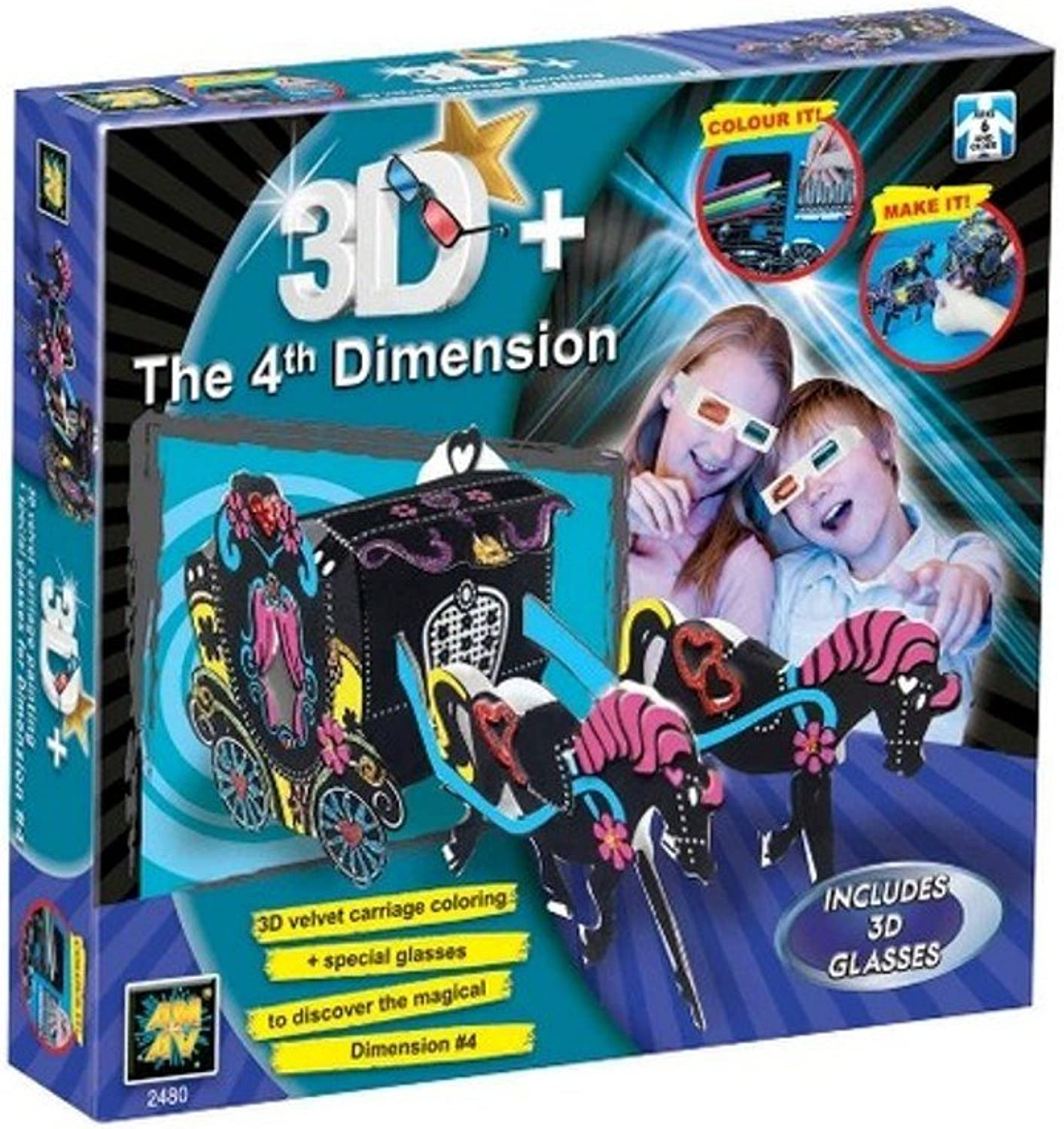 3D+ The 4th Dimension Carriage
