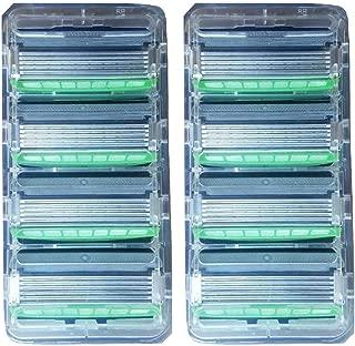 Schick Hydro 5 Sense Sensitive Refill Razor Blade Cartridge Lot of 8 Bulk