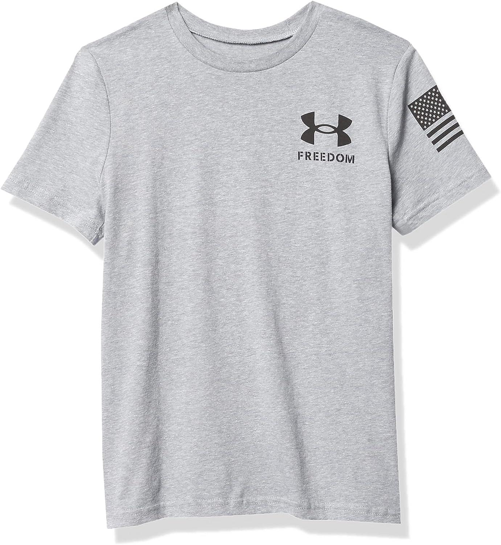 Under Armour Boys' New Freedom Flag Tshirt