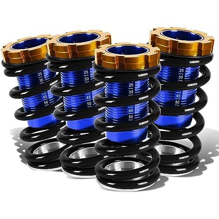 DNA Motoring COIL-HC88-T22-BK Kit de bobina de suspensión sobre manga, color negro