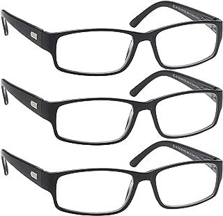 Reading Glasses 3x Men n Women Flex Readers