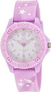 Q&Q Girls White Dial Plastic Band Watch - VQ96J020Y