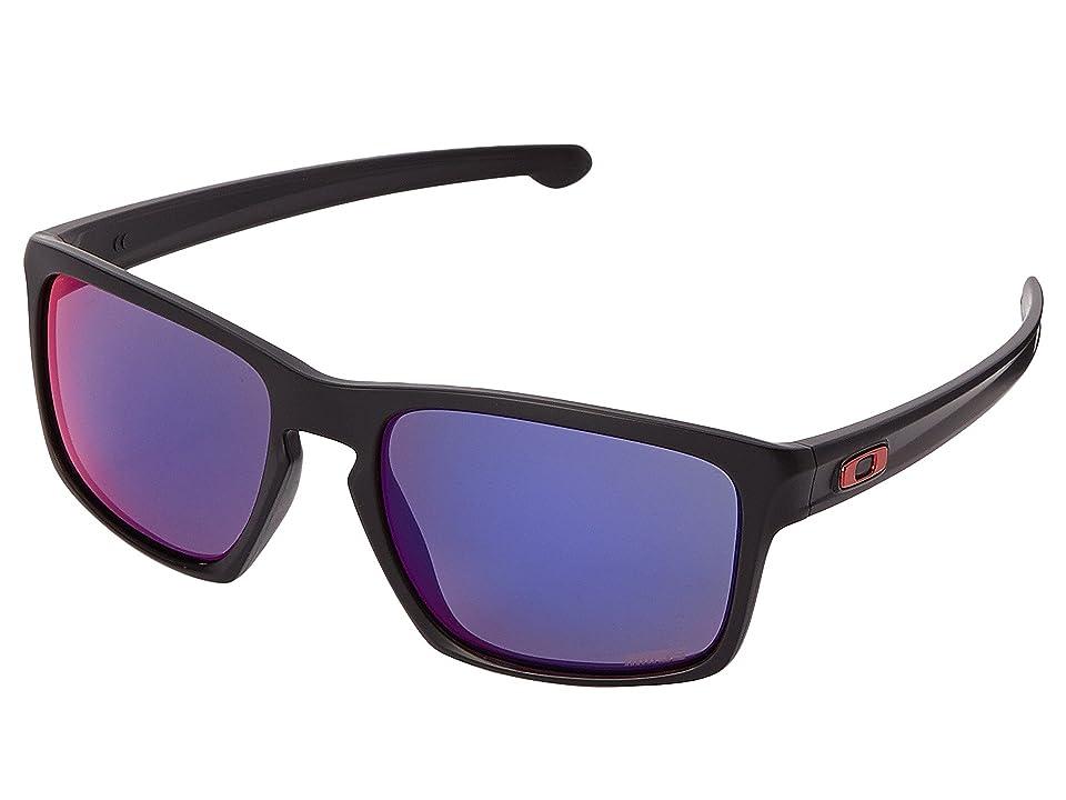 Oakley Sliver (Matte Black w/+ Red Iridium) Sport Sunglasses