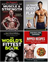 Jim Stoppani's Encyclopedia of Muscle & Strength, Your Ultimate Body Transformation Plan, The World's Fittest Book, Bodybuilding Cookbook Ripped Recipes 4 Books Collection Set