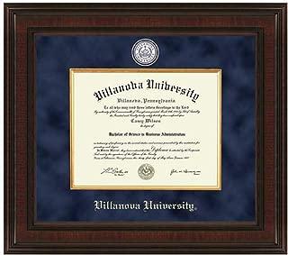 villanova diploma frame