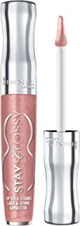 Rimmel Stay Glossy Lipgloss, Dorchester Rose, 0.18 Fl Oz (Pack of 1)