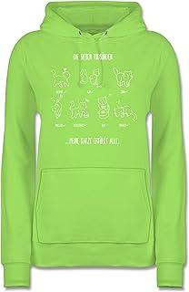 Urban Classics Ladies Kitty Christmas Sweater Pullover Katze Weihnachten Damen