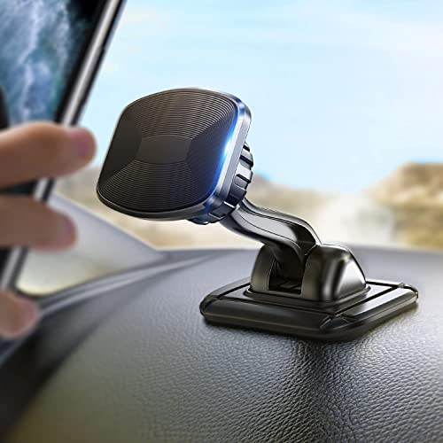 high quality LISEN Magnetic Phone Holder Car Mount, 2021 Upgrade Bendable Base Magnetic Car Phone Holder Mount for Dashboard with 6X N52 Strong Magnets Cell Phone Car new arrival Mount 2021 Compatible with All Smartphones online