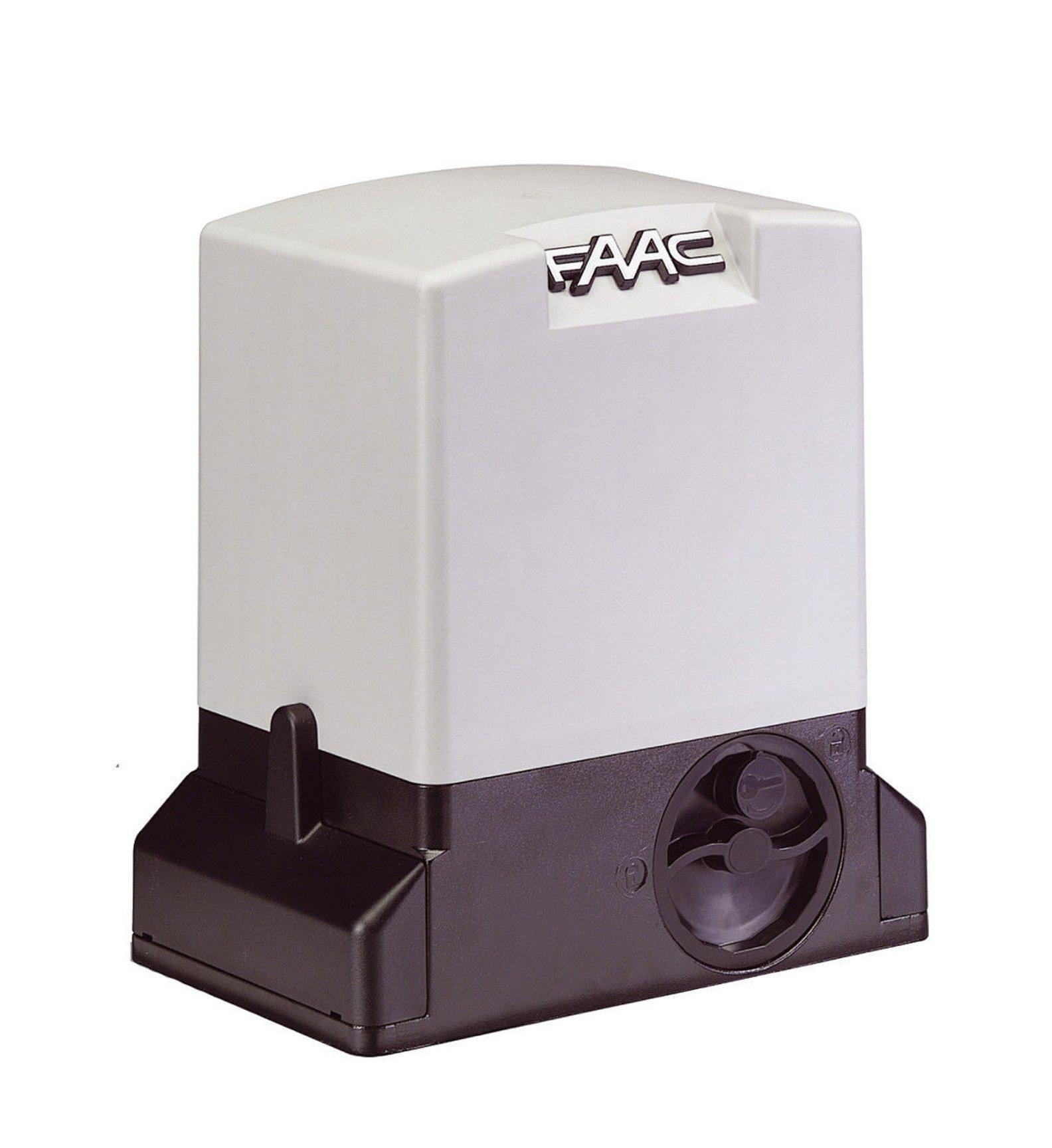 FAAC Motor 230 V con Encoder para puertas correderas uso residenziale y aziendale con peso max Puerta 900 kg 1097815: Amazon.es: Bricolaje y herramientas