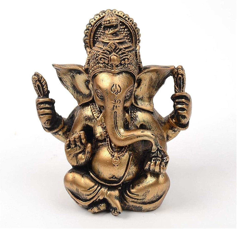 WANGLX Buddha Over item handling Ornament Zen Sculpture Ganesh Statue Garden Limited time for free shipping