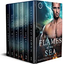 Flames of the Sea Boxed Set: A Vampire vs Witch Crossover Romance Complete Series Collection (English Edition)