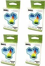 4-LOT Bulk Genuine Dell Series 11 Photo JP455, DX518 Standard Ink Cartridge For Printer Models 948, V505, V505w