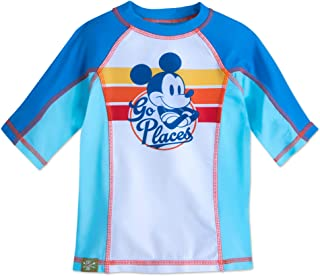 Mickey Mouse Rash Guard for Kids White