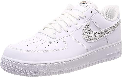 Nike Air Force 1 '07 Lv8 JDI Lntc, Hauszapatos de Gimnasia para Hombre