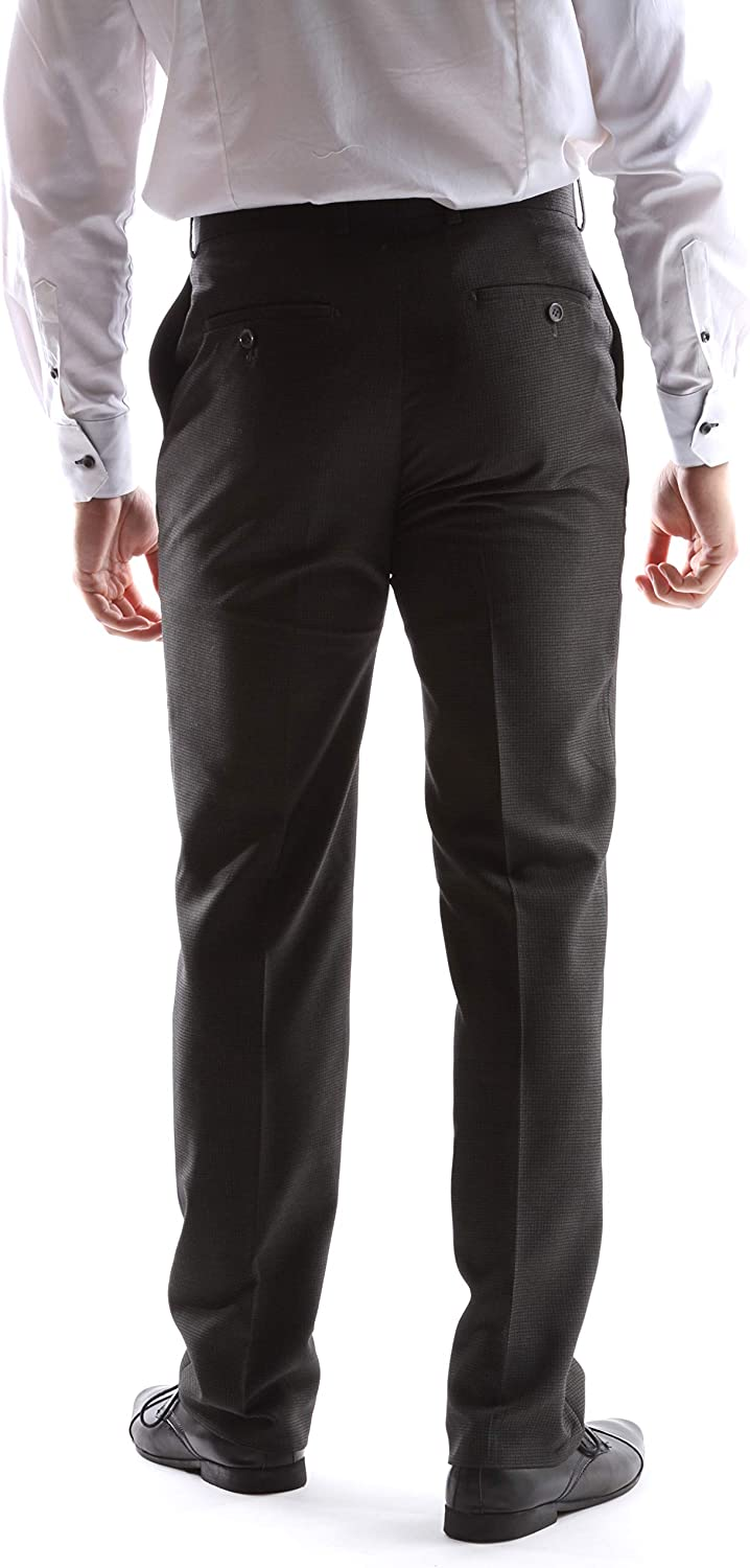 Men's Superior 150s Single Breasted Two Button Dress Suit