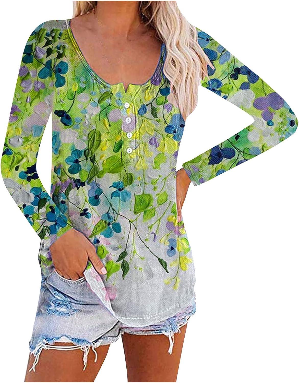Smooto Autumn T-Shirts Women's Tunic Blouse Long Sleeve Shirts Tee Tops