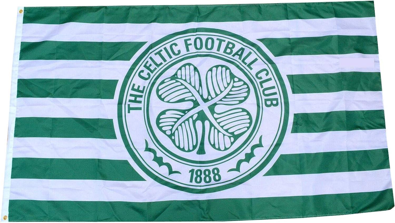Gorgeous Aihccy Scotland Premiership Celtic FC Man Flag 3x5ft Banner Cave Special sale item