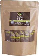 Cusa Tea: Organic English Breakfast Premium Instant Tea - 100% Organic Tea - No Sugar and Artificial Flavors - Make Hot & ...