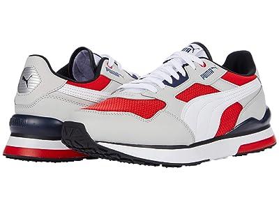 PUMA R78 FUTR (Gray Violet/Puma White/High Risk Red) Shoes