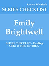 Emily Brightwell - SERIES CHECKLIST - Reading Order of MRS JEFFRIES,