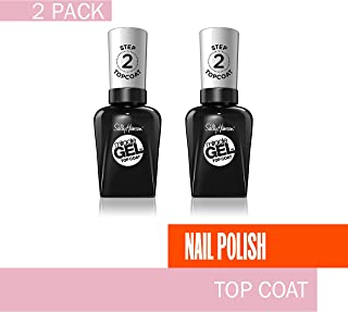 Sally Hansen Miracle Gel Top Coat, 2 Count