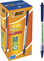 BIC Ecolutions Clic Stic (Recycled) Blue (Box 50)
