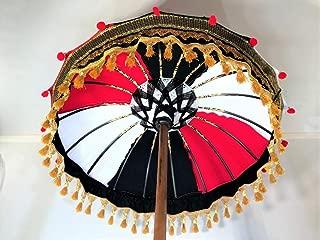 Black Bali Umbrella, Garden Umbrella, Wedding Umbrella, Hindu Umbrella, Indonesian Umbrella, Festival Umbrella, Pool Umbrella, Party Umbrella, Red Umbrella, Black Umbrella, White Umbrella