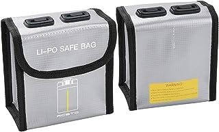 DJFEI Mavic Mini 2 Borsa per Batteria LiPo, Prova di Esplosione a Prova di Fuoco Lipo Safe Bag per DJI Mavic Mini 2 Parti ...