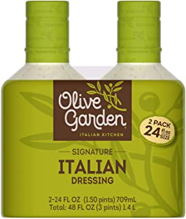Olive Garden Signature Italian Dressing 24 oz. bottle, 2 ct. A1