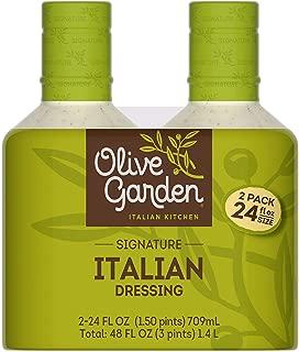 Olive Garden Italian Dressing 2/24 Ounce Bottles